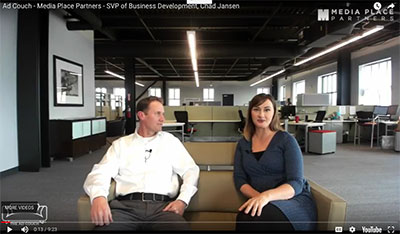 On the Ad Couch with Chad Jansen, SVP Biz Dev, Adtegrity Enterprise